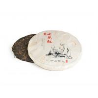 Китайский красный чай Дянь Хун со старых деревьев блин 357 г (фаб. Юндэ Сюлинь, Линцан 2015 г.)