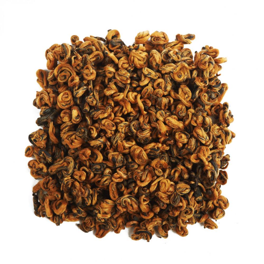 Китайский красный чай Хун Цзин Ло (Золотая улитка) Премиум