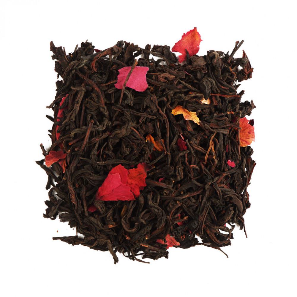 Китайский красный чай Мей Гуй Хун Ча (Красный чай с розой)