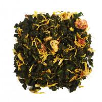 Китайский ароматизированный чай Клубника-банан Улун