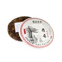 Китайский Белый чай блин 357 г Шоу Мей (фаб. Юкоу, Фудин 2015 г.)