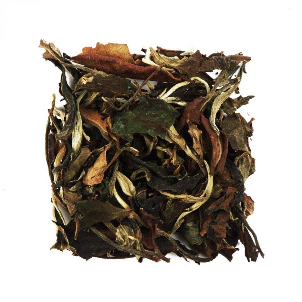 Китайский белый чай Юэ Гуан Бай (Белый Лунный Свет. Белый рассыпной пуэр)