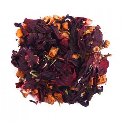 Чайный фруктовый напиток Малина с мятой