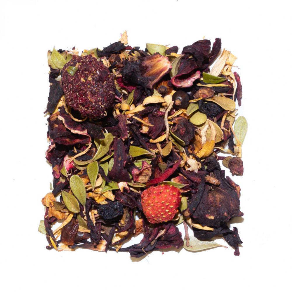 Красный сарафан Чайный напиток